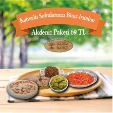 Akdeniz Usulü Köy Kahvaltısı Paketi