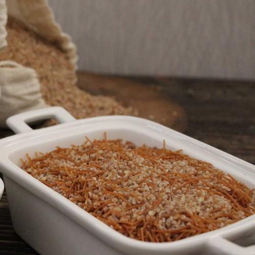 Kavrulmuş Şehriyeli Bulgur Karışımı (Pilavlık Pişirilmeye Hazır)